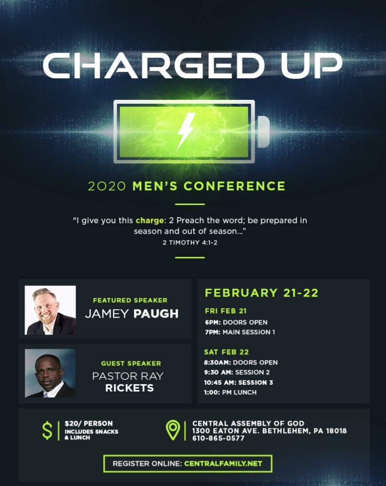 Charged Up Men's Conference