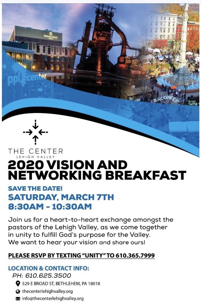 2020 Vision and Networking Breakfast